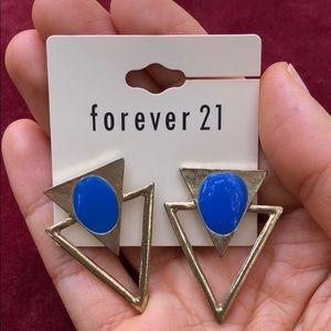 """3 for $20"" | NWOT, Geo Statement Stud Earrings"